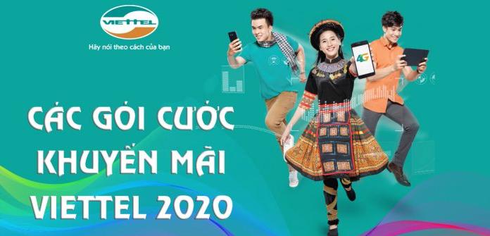các gói khuyến mãi Viettel 2020